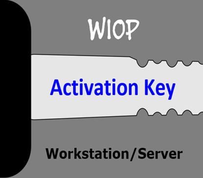 hIOmon WIOP Workstation/Server Activation Key