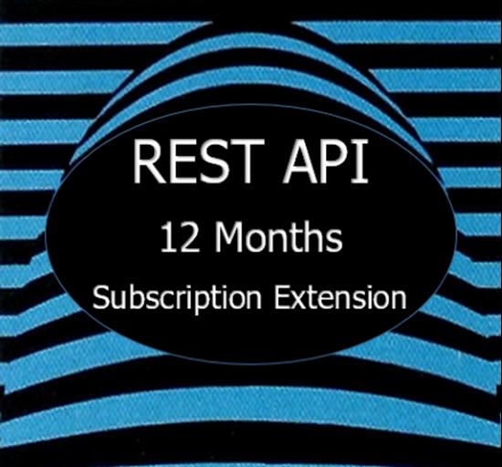 hIOmon REST API Subscription Extension 12 Months